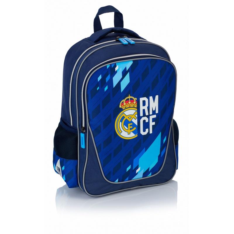 43f6725281 ŠKOLSKÝ   ŠPORTOVÝ BATOH REAL MADRID BLUE 38CM