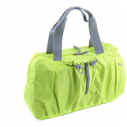 PUMA Fitness Small Workout Bag taška limeade-steel grey PU13